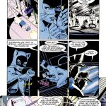 Batman ties up Catwoman and leave her for the cops!