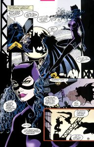 Catwoman and Batman - Love?
