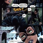 Catwoman on top of Batman